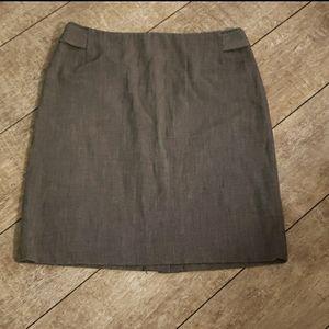 Raffaella Black Pencil Skirt 528